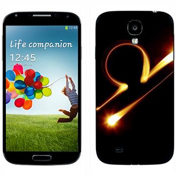 Виниловая наклейка «Знак Весы» на телефон Samsung Galaxy S4