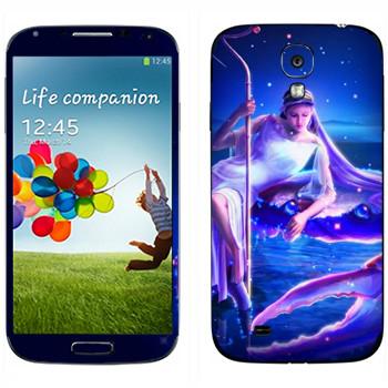Виниловая наклейка «Знак зодиака Рак» на телефон Samsung Galaxy S4