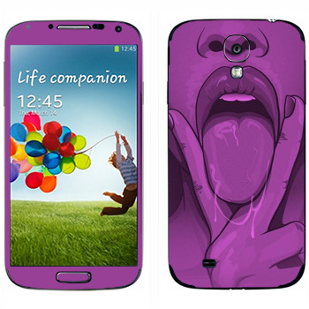 Виниловая наклейка «Куни» на телефон Samsung Galaxy S4