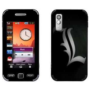Виниловая наклейка «Death Note - L» на телефон Samsung S5230