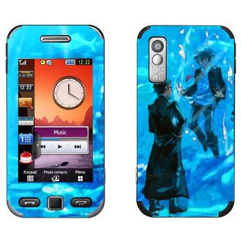 Виниловая наклейка «Синий экзорцист» на телефон Samsung S5230