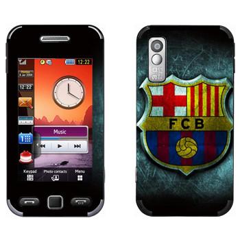 Виниловая наклейка «Barcelona fog» на телефон Samsung S5230