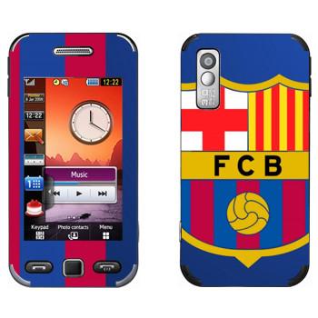 Виниловая наклейка «Barcelona Logo» на телефон Samsung S5230