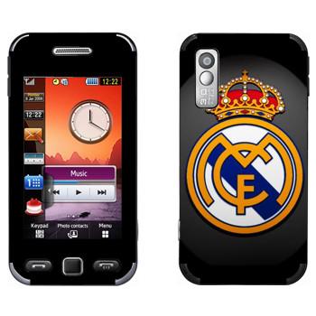 Виниловая наклейка «Real logo» на телефон Samsung S5230