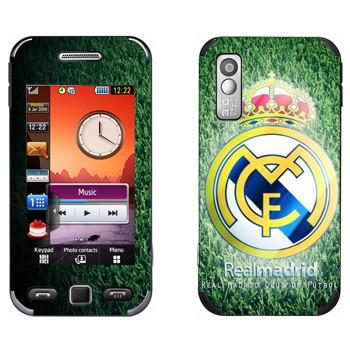 Виниловая наклейка «Real Madrid green» на телефон Samsung S5230