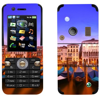Виниловая наклейка «Гондолы - Венеция» на телефон Sony Ericsson K530i