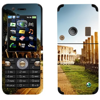 Виниловая наклейка «Колизей - Рим» на телефон Sony Ericsson K530i