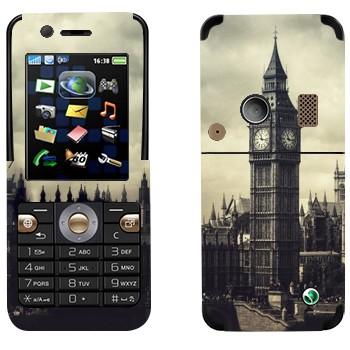 Виниловая наклейка «Лондонский Биг Бен» на телефон Sony Ericsson K530i