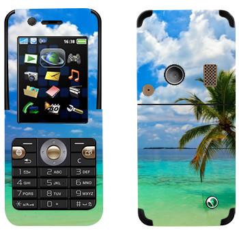 Виниловая наклейка «Побережье Майами» на телефон Sony Ericsson K530i