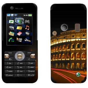 Виниловая наклейка «Римский Колизей ночью» на телефон Sony Ericsson K530i