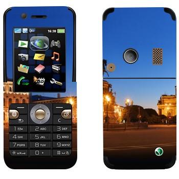 Виниловая наклейка «Санкт-Петербург» на телефон Sony Ericsson K530i