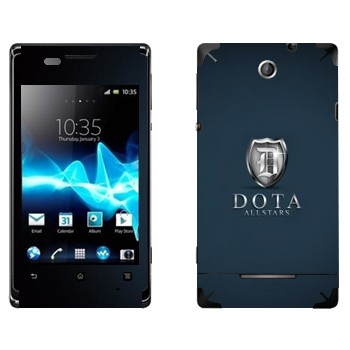 Виниловая наклейка «DotA Allstars» на телефон Sony Xperia E/Xperia E Dual