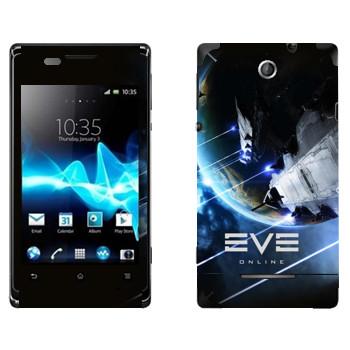 Виниловая наклейка «EVE Армада» на телефон Sony Xperia E/Xperia E Dual