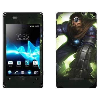 Виниловая наклейка «Shards of war Брич» на телефон Sony Xperia E/Xperia E Dual