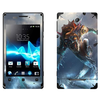 Виниловая наклейка «Сларк - Dota 2» на телефон Sony Xperia E/Xperia E Dual