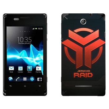 Виниловая наклейка «Star conflict Raid» на телефон Sony Xperia E/Xperia E Dual